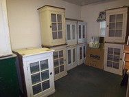 Cabinets- glass doors