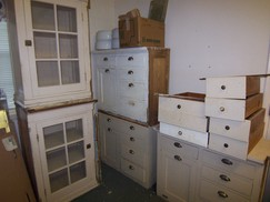 wooden base kitchen cabinets with produce bin  solid wood  priced   200 each greensboro historic rental homes  for sale  1900   1920 era      rh   greensborohistoricrentalhomes com